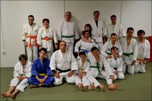 G-Judo sekcija in Aleš Scheriani